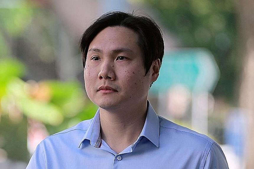 Daniel Liew Yaoxiang duped the CPF Board into dispensing funds from patients' Medisave accounts. He pleaded guilty yesterday to 28 cheating charges and two counts of forgery. ST PHOTO: WONG KWAI CHOW