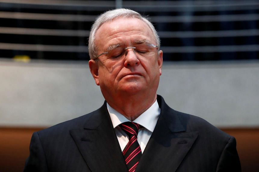 Former Volkswagen boss Martin Winterkorn was accused of conspiring to cover up the German carmaker's emissions cheating.