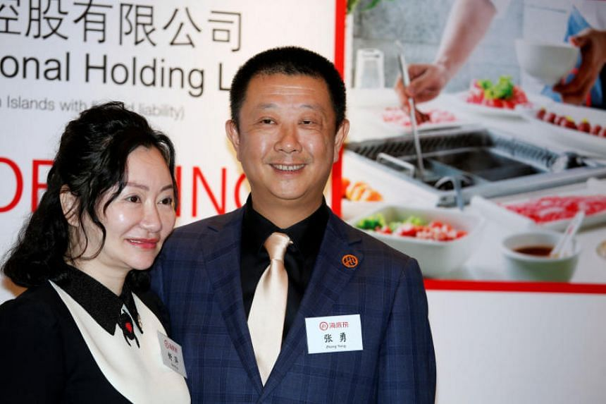 As of last week, Haidilao International Holding chairman Zhang Yong and his wife Shu Ping had grown US$5.6 billion (S$7.58 billion) richer in 2019.