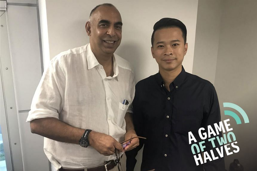 A Game Of Two Halves features Rohit Brijnath (left) and David Lee from The Straits Times' sports desk as they discuss the weekend's hot talking points in this sports podcast.