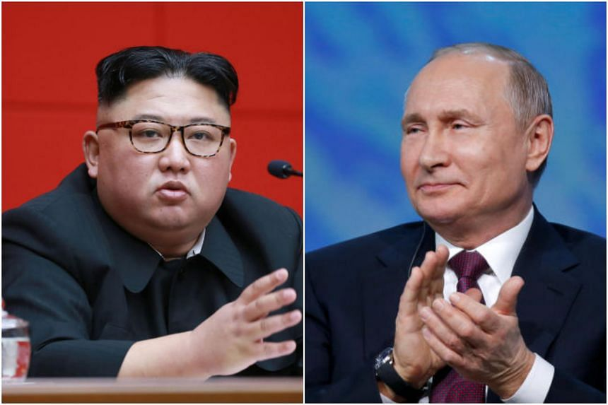Kim Jong Un Getting Ready For First Summit With Vladimir Putin East Asia News Top Stories The Straits Times
