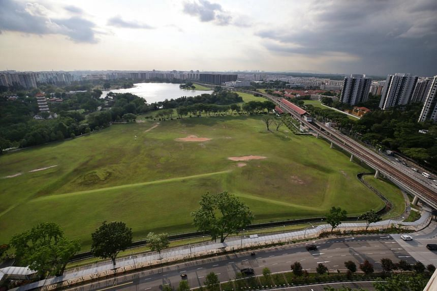 A vacant 7ha plot of land in the Jurong Lake District that will be developed into an integrated tourism development.