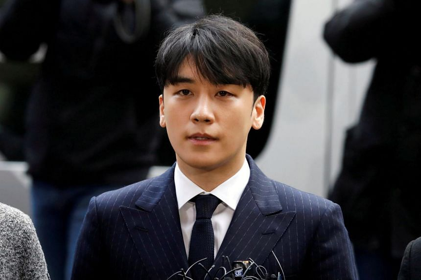 Seungri has already been booked for distributing an obscene photograph, and is also being probed for misdeeds, from tax evasion to embezzlement of funds.