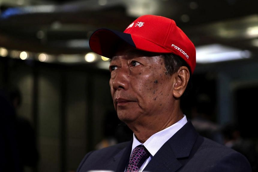 Billionaire Foxconn founder Terry Gou said on the sidelines of a security forum in Taipei that he was weighing a bid to oust Taiwanese President Tsai Ing-wen.