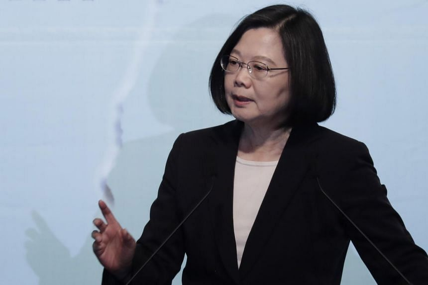 Taiwan's President Tsai Ing-wen said the Trump administration had notified Taipei of its third arms sale to Taiwan, and the training of pilots at the Luke Air Force Base in Arizona.