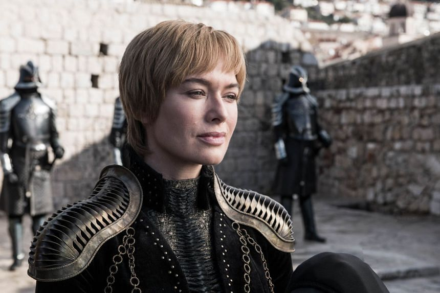 Actress Lena Headey as Game Of Thrones' Cersei Lannister.