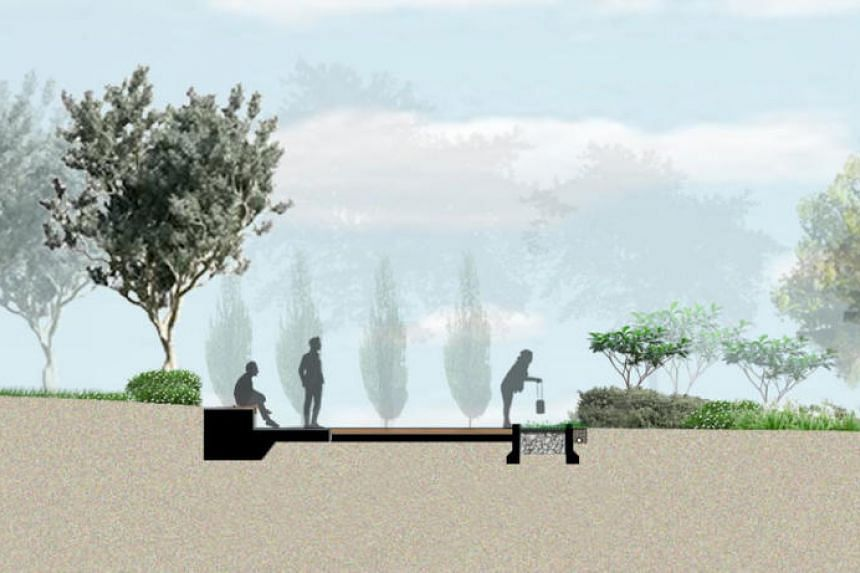 The garden will include seating areas and will be wheelchair-accessible, allowing families to easily gather, view and participate in the ash scattering process.