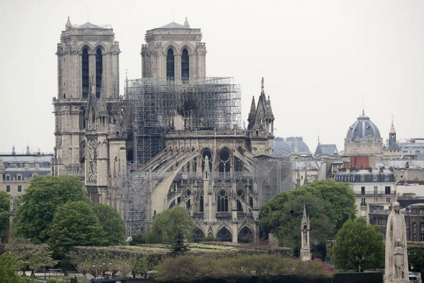 Germany's Cologne Cathedral's chief architect Peter Fuessenich said the reconstruction of Notre Dame will take decades.