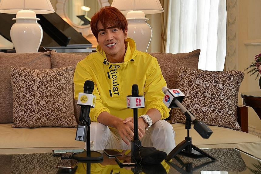 Jerry Yan, best known for his role in 2001 Taiwanese drama Meteor Garden, was in Singapore for the Star Awards ceremony on Sunday.