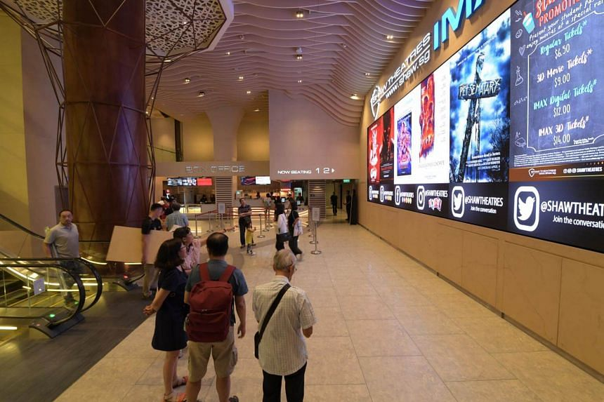 With its Jewel outlet, Shaw Theatres owns eight cineplexes across the island.