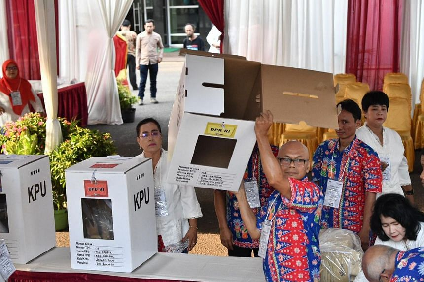 More than 192 million Indonesians are eligible to vote for their president and local representatives.