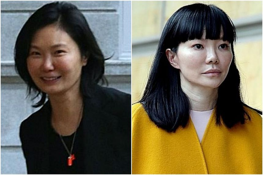 Ms Anita Hatta (left) is accusing Dr Georgia Lee of misleading her into investing $2 million and spending funds on expenses not incurred for business purposes.
