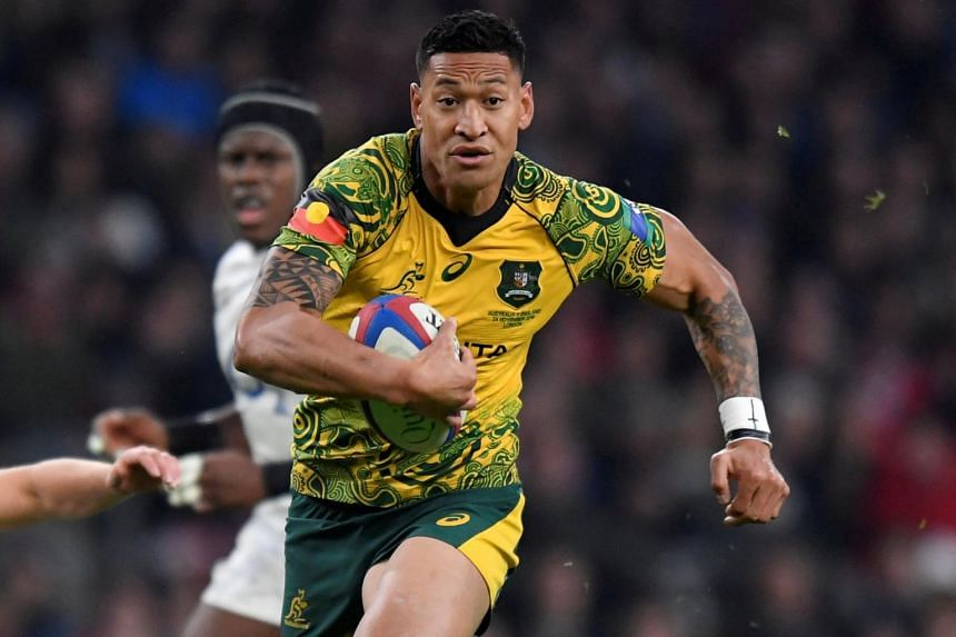 Israel Folau was issued a code of conduct breach notice following an investigation by RA's integrity unit and had 48 hours to respond.