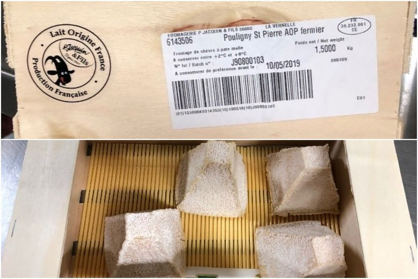 The European Commission Rapid Alert System for Food and Feed had earlier issued a notification that some batches of Pouligny Saint Pierre Fermier brand au lait cru had been recalled due to the bacteria.