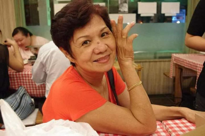 Madam Goh, a housewife, was diagnosed with a brain tumour in May 2014.