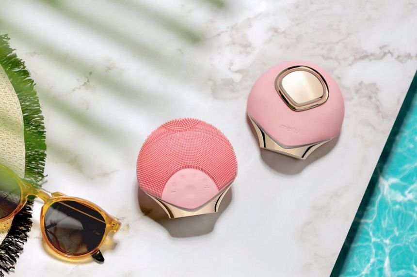 Meitu said that it will launch a face-cleansing brush that can automatically identify the best pulsing setting for a user.