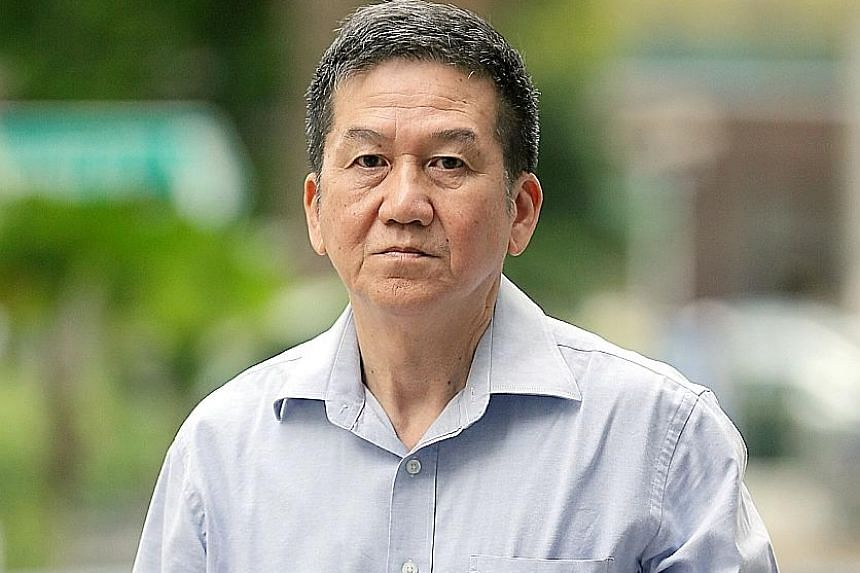 Neo Kian Siong has been sentenced to a year and nine months' jail for collecting more than $740,000 in bribes. ST PHOTO: WONG KWAI CHOW