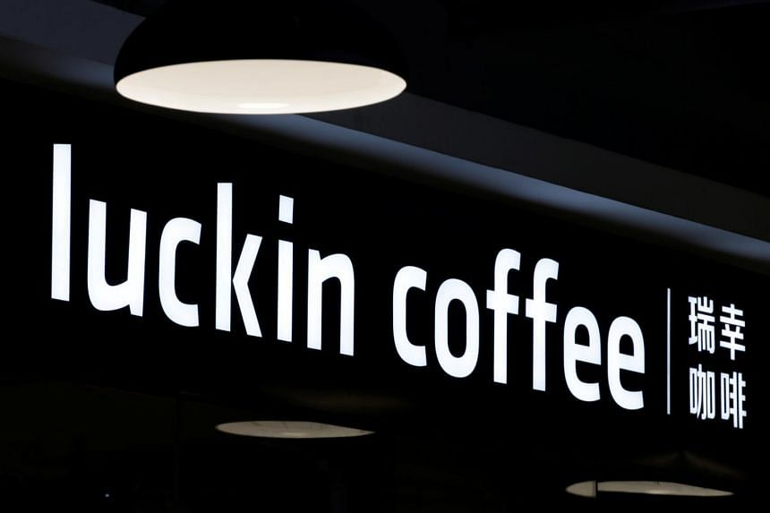 Up-and-coming Luckin Coffee is backed by investors including Singapore sovereign wealth fund GIC and China International Capital Corp Ltd.