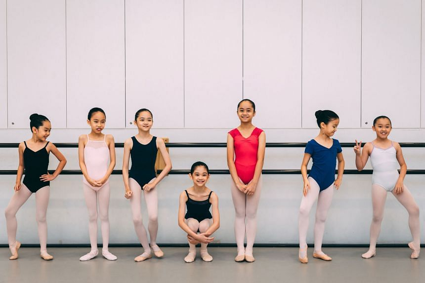 Ballet students at the Singapore Dance Theatre. The International Ballet Grand Prix Singapore is open to dancers aged seven to 18.