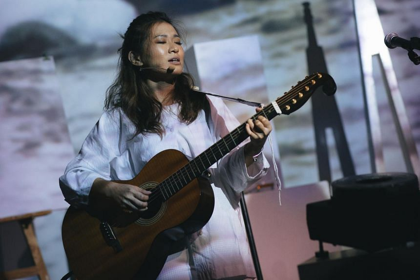 """Titled 'Til The End Of The World, We'll Meet In No Man's Land and inspired by the issue of climate change, singer-songwriter Inch Chua is both the writer and main performer in what she describes as """"an anti-musical""""."""
