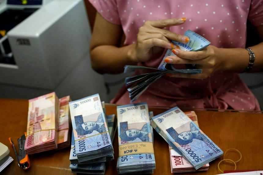The rupiah traded to a two-month high against the US dollar at one point on April 18.