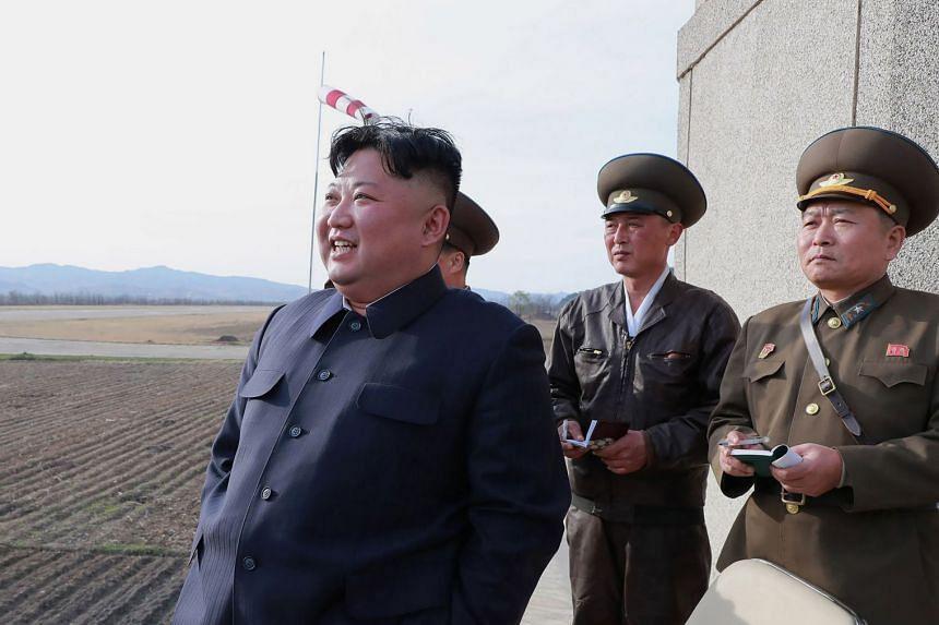 Mr Kim Jong Un.