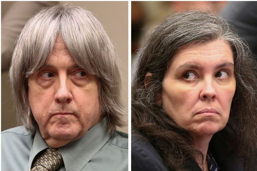 David Allen Turpin (left) and his wife Louise Anna Turpin had pleaded guilty.