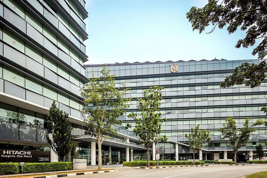 Situated at Tampines Regional Centre, the property comprises two blocks of eight-storey office towers. It has a site area of about 86,110 sq ft and gross floor area of around 361,660 sq ft.