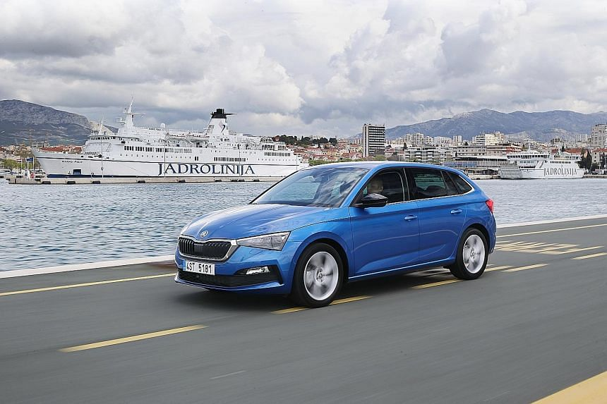 The Skoda Scala offers a comfortable and stable ride, even at high speeds.