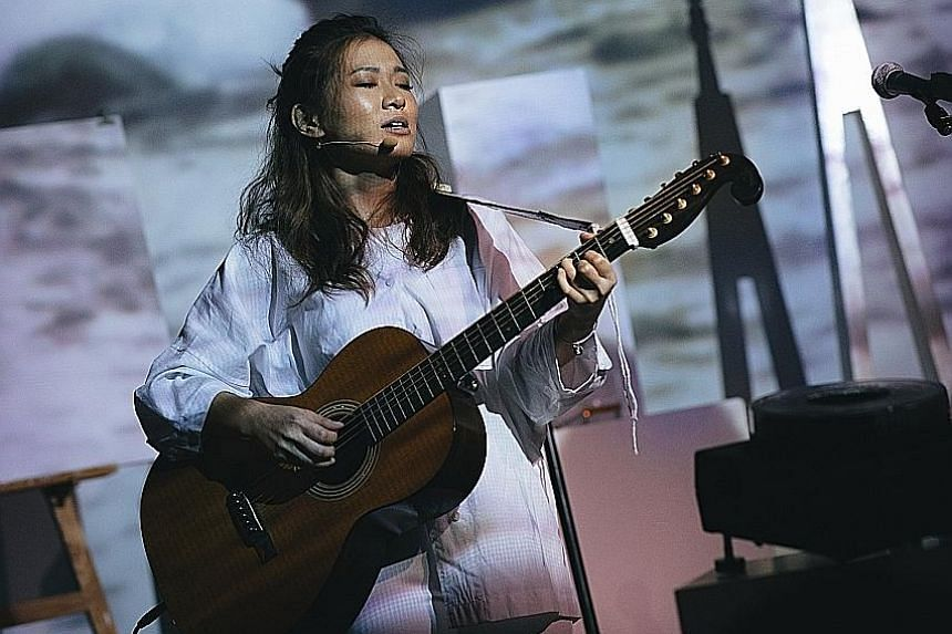 Singer Inch Chua's 'Til The End Of The World, We'll Meet In No Man's Land was inspired by a trip she took last year to Antarctica.