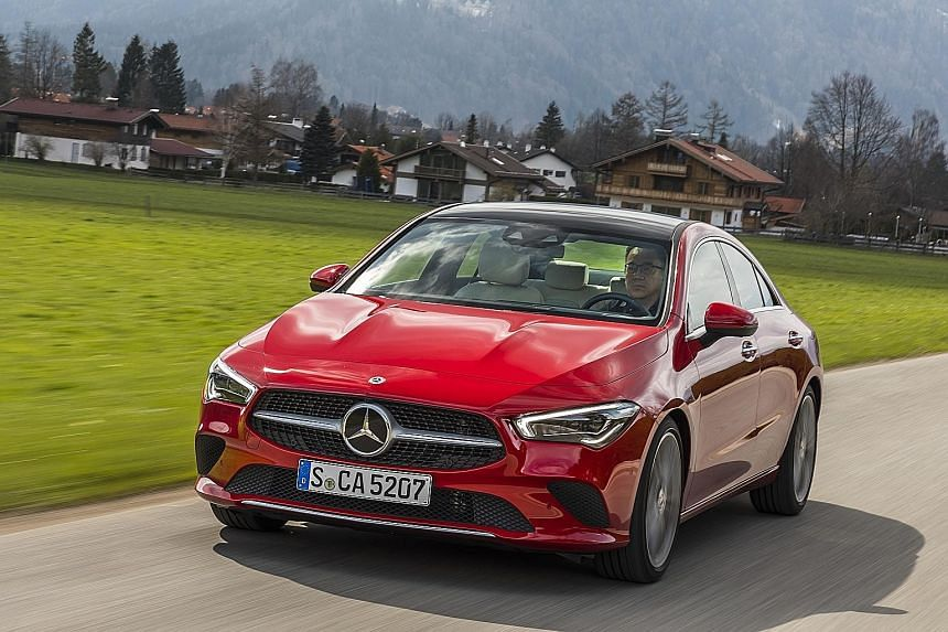 The Mercedes-Benz CLA200 is safer than before, with safety and driving aids, such as Active Lane Keeping Assist, some of which are adopted from the S-class flagship.