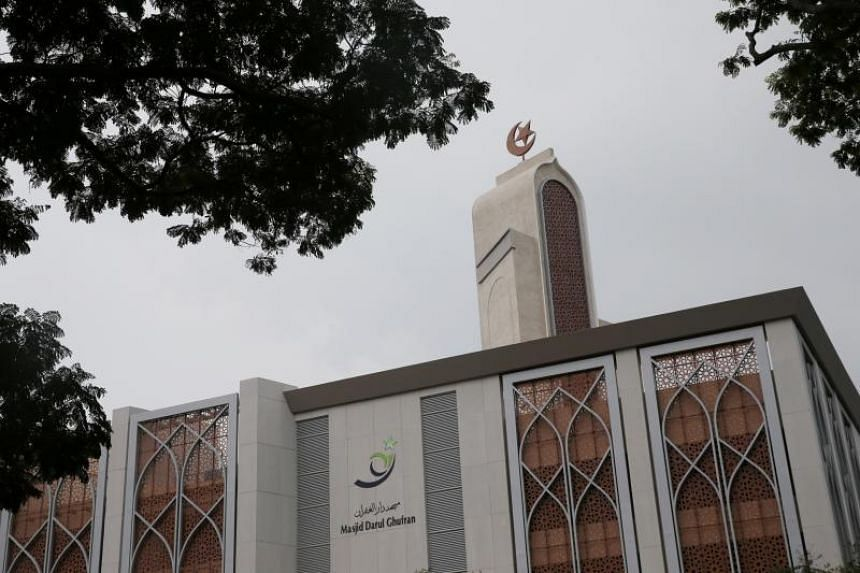 The Darul Ghufran mosque in Tampines, which has undergone a $25-million reconstruction and upgrade.