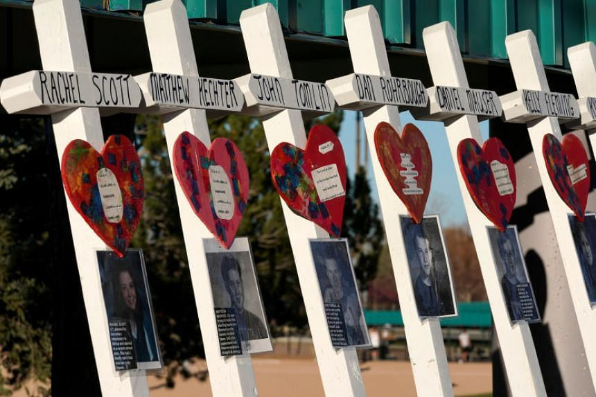 Twelve students and a teacher were killed on April 20, 1999, when two teenagers armed with an assortment of weapons and home-made bombs went on the rampage at the Columbine high school.