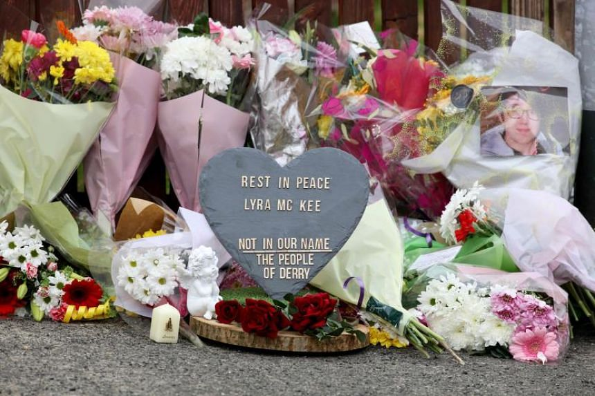 Journalist Lyra McKee was shot in the head on April 18, 2019, by, police believe, dissident republicans linked to the New IRA paramilitary group as they clashed with police in Northern Ireland.