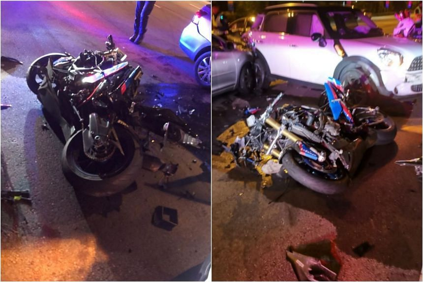 A 28-year-old motorcyclist died in the accident that occurred on April 19, 2019 on the Central Expressway.