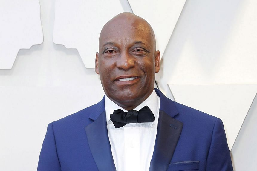 John Singleton arrives for the Oscars ceremony in Hollywood, California, in February 2019.