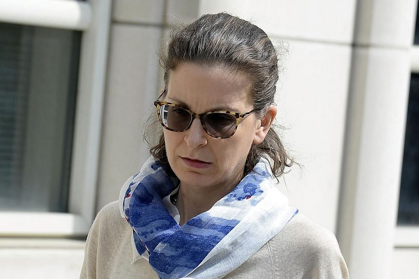 Seagram liquor heiress Clare Bronfman is one of several people charged in connection with a group where women were branded and forced to have sex with the founder. PHOTO: NYTIMES