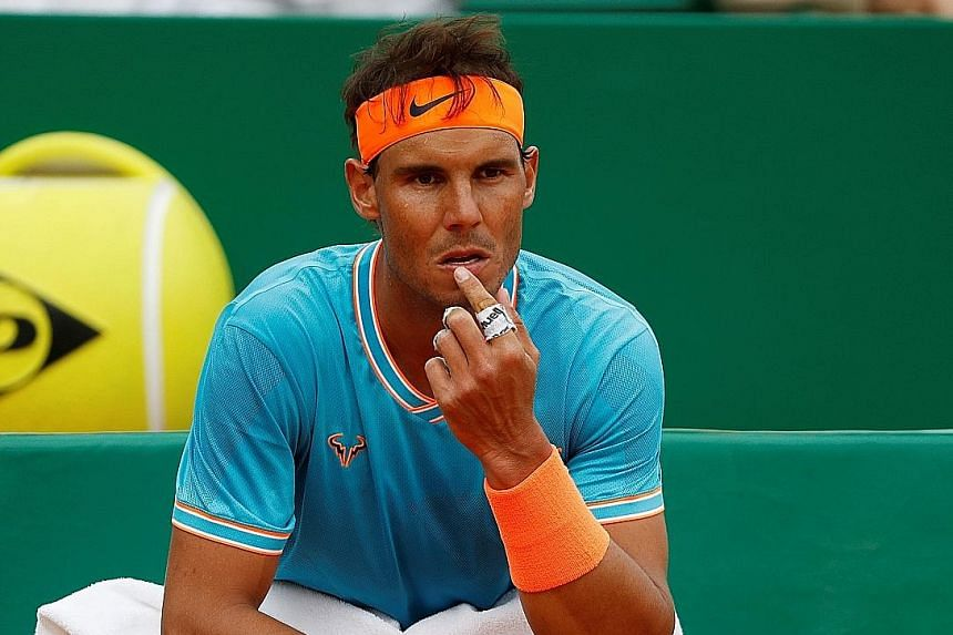 Spain's Rafael Nadal, beaten in the Monte Carlo semi-finals, is yet to win a title this season.
