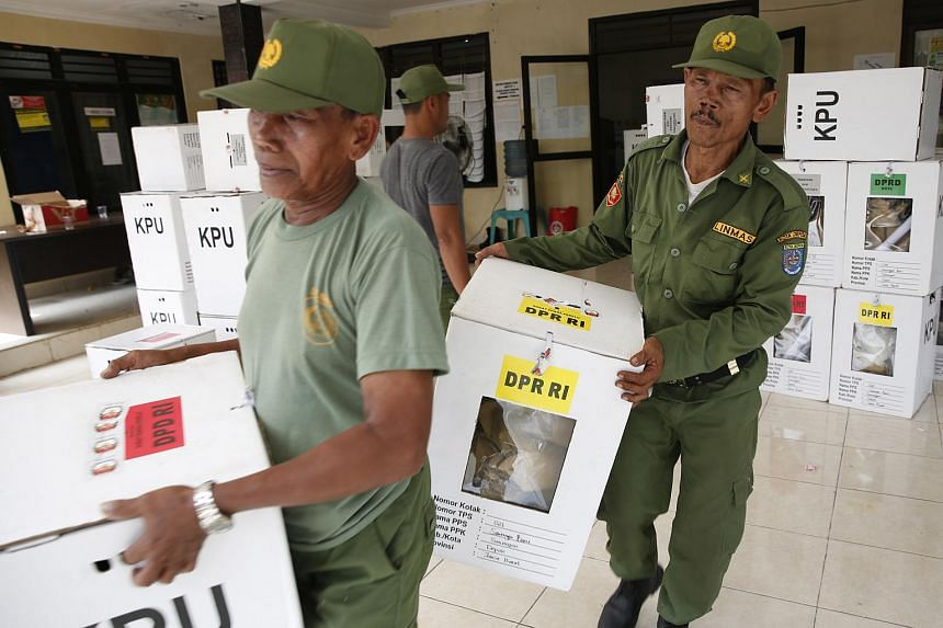 So far 12 and four polling booth attendants respectively in West Java and South Sulawesi provinces have died due to their prolonged duties in the polling booths.