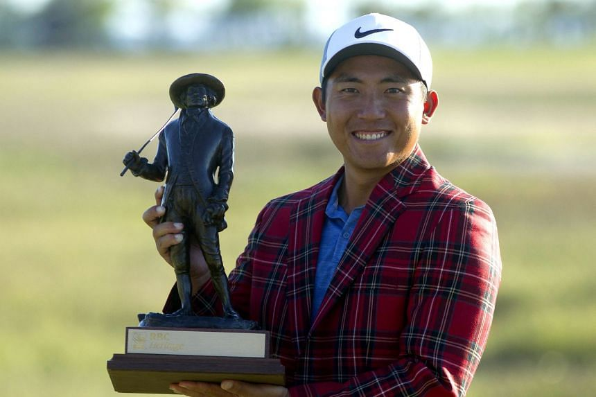 The victory brought Pan Cheng-tsung, ranked 113th in the world, tour status through the 2020-21 campaign as well as berths in his first Masters next year and his first PGA Championship next month at Bethpage Black.