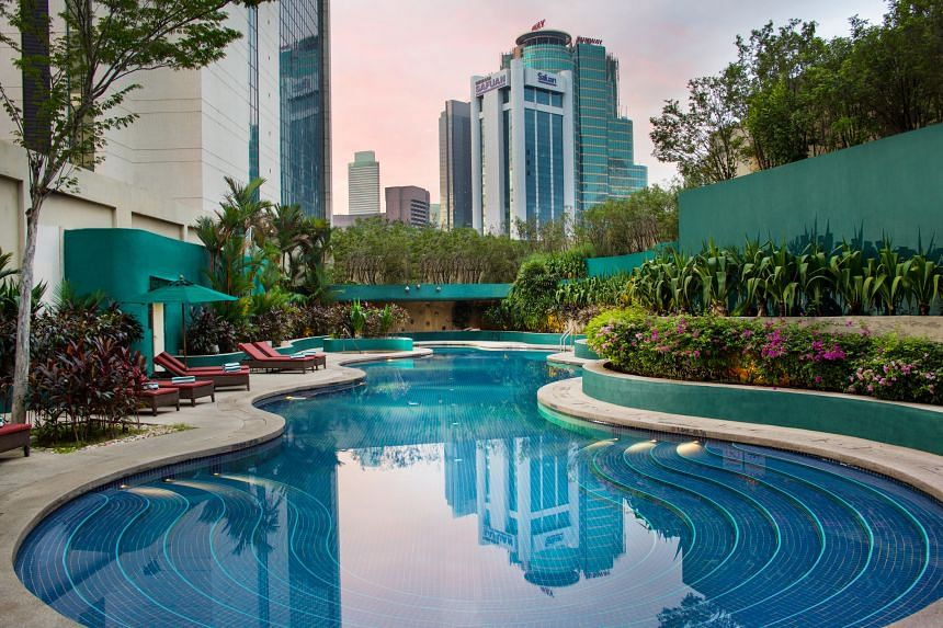 Located in the heart of the bustling shopping district of Bukit Bintang, the Sheraton Imperial Kuala Lumpur is the prime place to stay in Malaysia's capital. PHOTO: SHERATON IMPERIAL KUALA LUMPUR/GABRIEL ULUNG W