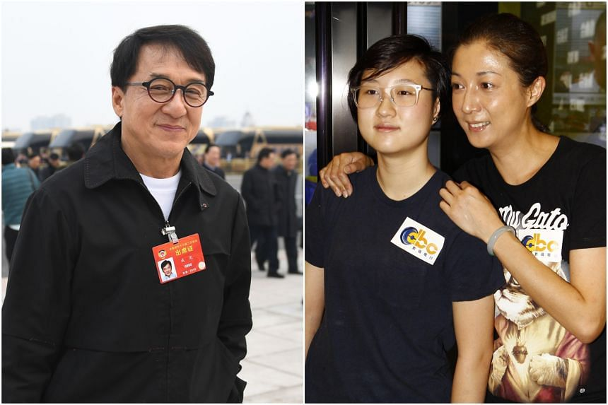 Jackie Chan, who is married to former Taiwanese screen idol Joan Lin, had fathered a child, Etta, with 1990 Miss Asia Elaine Ng in 1999.