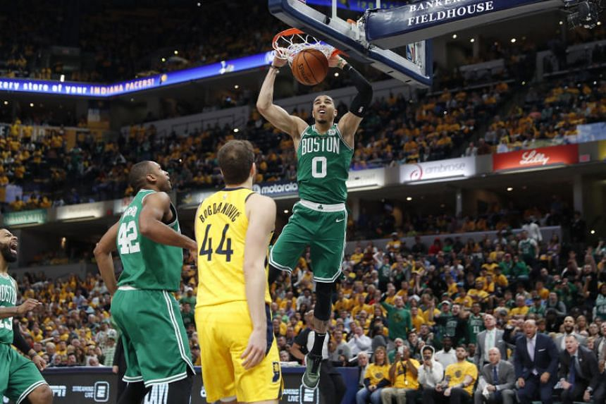 buy popular ac984 293ab NBA: Celtics move on after sweep of Pacers; Warriors ...