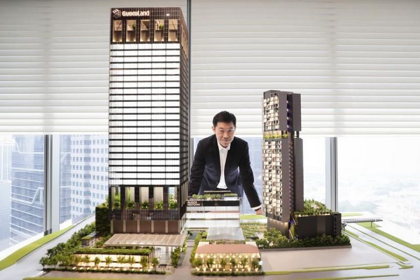 Mr Cheng Hsing Yao, group managing director of GuocoLand Singapore, said the developer's vision for Midtown is for it to be like the midtown areas in many capital cities.