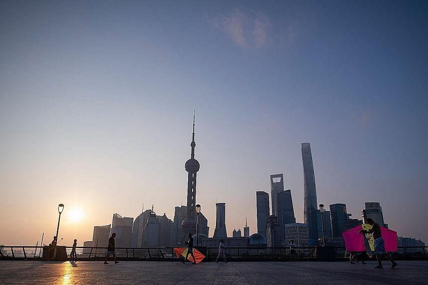 The skyline of the Lujiazui Financial District in Shanghai - one of the key gateway cities that the CapitaLand Asia Partners I fund is targeting. The fund's investors include institutional investors such as pension funds, insurance companies and fina
