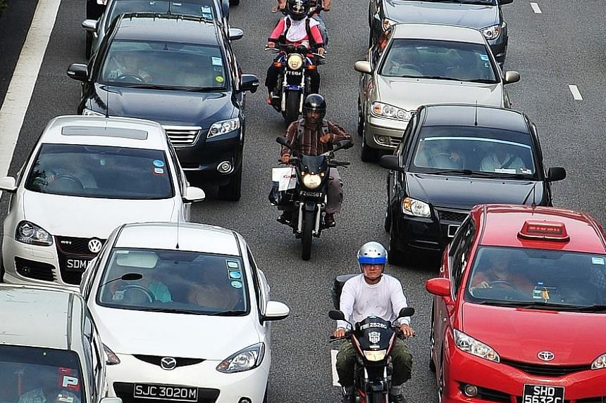 About 1/3 of pollutive motorcycles deregistered, Transport News & Top