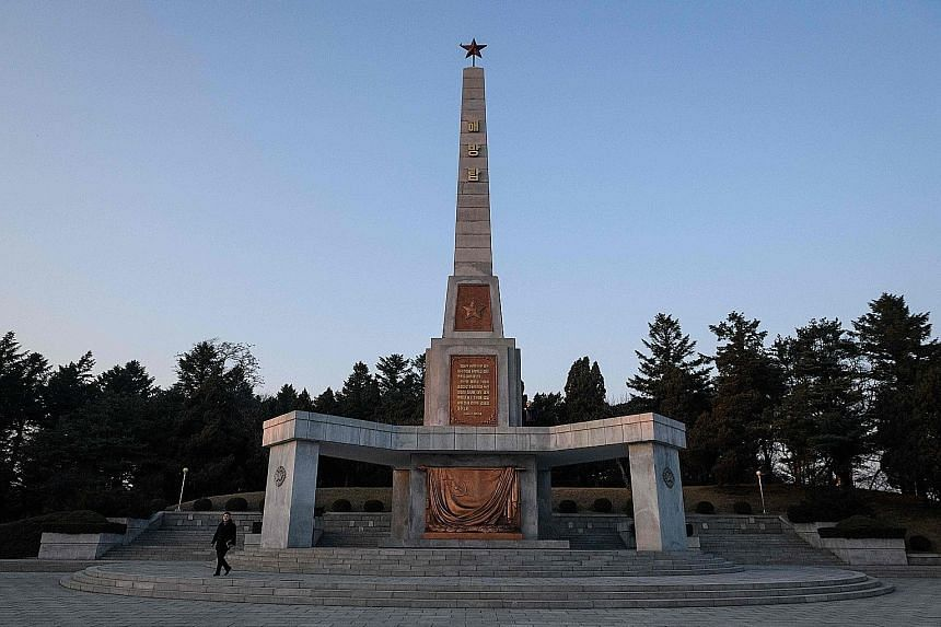The Liberation Tower in Pyongyang commemorates Russia's help in liberating Korea from Japanese occupation. Moscow has already called for international sanctions on North Korea to be eased.