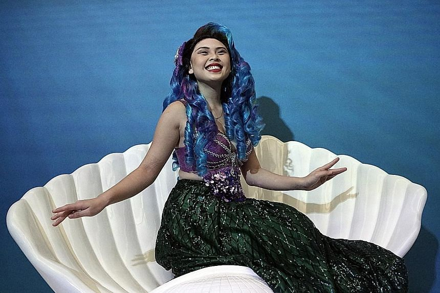 At multi-room theatrical production 22 Stories, you can meet characters such as Mariah Mackerel Mermaid (above) and take photographs in rooms like the Cheshire Cat Room.