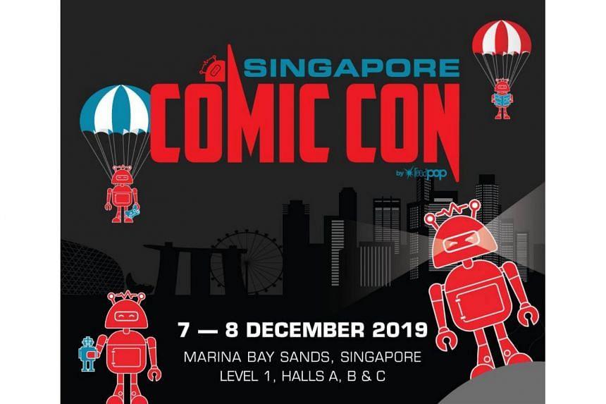 ผลการค้นหารูปภาพสำหรับ Singapore Comic Con