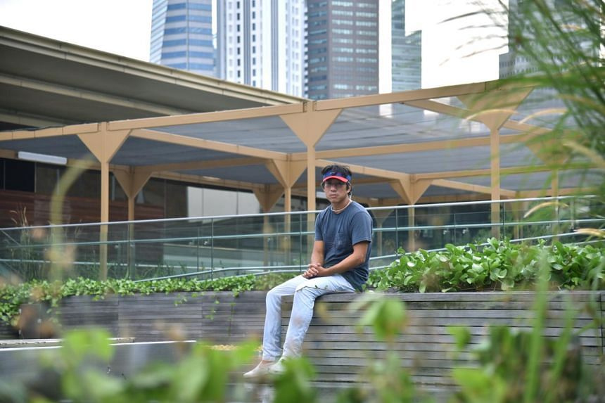 Artist Charles Lim has been adding plants to the garden on the rooftop of the National Gallery Singapore in what he describes as an ongoing experiment.